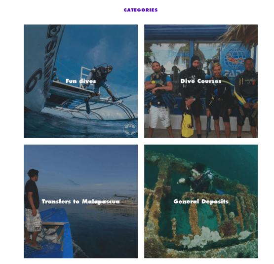 Malapascua Diving Online Prices and Store